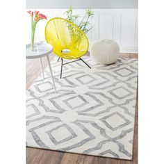 nuLOOM Contemporary Handmade Abstract Wool Rug (7'6 x 9'6) - Overstock Shopping - Great Deals on Nuloom 7x9 - 10x14 Rugs