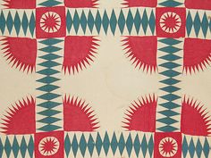 Antique New York Beauty Quilt 1860's Virginia | eBay