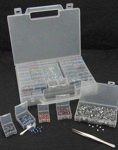 The Crystal Keeper is the perfect rhinestone storage solution for your hotfix Swarovski Crystals, rhinestones, nailheads and rhinestuds. Great...