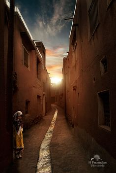 """Abyaneh, my past...""  photo.net Photograph of the Week By:  Hamid Reza Farzandian"