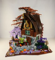 A great hideout for a bad elf - would look great alongside the Elves series.