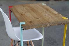 TIPTOE, las patas de mesa universales que darán color a tu casa                                                                                                                                                                                 Más