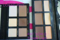 lorac pro contour kit vs kat von d shade and light palette