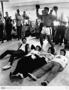 Mohammed Ali and the Beatles