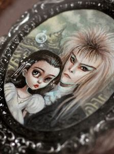 The Labyrinth - original miniature painting by Mab Graves