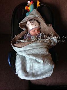 FruFloden - hjem, familie og hverdagsliv: ~ Sy egen babywrap / bilstolpose ~