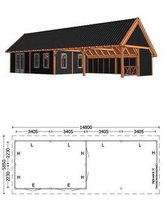Carport Garage, Backyard Bar, Outdoor Kitchen Design, Garages, Tallit, House Plans, Shed, Cottage, Pergola