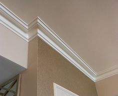 Cove Molding: Cove molding makes the area between the wall and ceiling stand out more. It makes the room feel more sophisticated and finished.