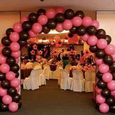 Pink  Reception Entrance