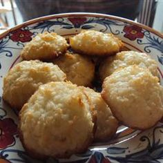 Perfect Coconut Macaroons - my sister made this over Christmas and dipped them in chocolate, they were awesome