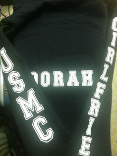 Womans Love and War black ' USMC  ' Oorah by LoveandWarclothing, $55.00