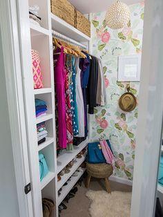 Hello, prettiest closet ever!