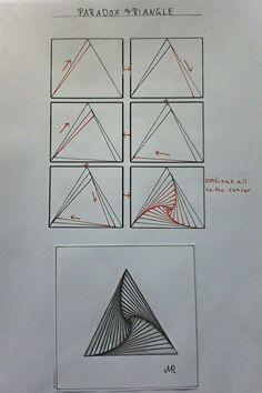 Doodle Patterns 367324913354487267 - Zentangle Pattern Paradox by Lena Source by classedesfarfad Zentangle Drawings, Doodle Drawings, Doodle Art, Zentangles, Tattoo Drawings, Pencil Drawings, Easy Zentangle Patterns, Doodle Patterns, Illusion Drawings