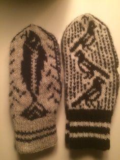 Torsk og skjære votter Gloves, Beanie, Hats, Winter, Winter Time, Hat, Beanies, Winter Fashion, Mittens