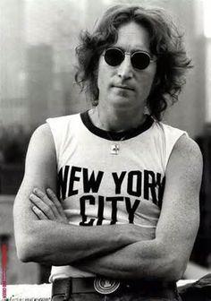 John Lennon Music Heals, Music Icon, Contemporary Artists, John Lennon, Round Sunglasses, Mens Sunglasses, Singer, Graphics, The Beatles