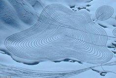 World Of Mysteries: Simon Beck's Snow Art