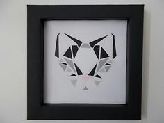 Geometric art and frame