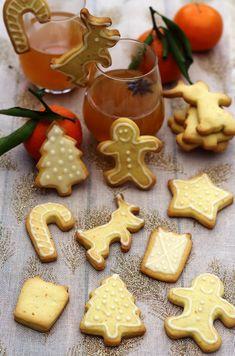 Oat Cookies, Peanut Butter Cookies, Gingerbread Cookies, Christmas Cookies, No Cook Desserts, Paleo Dessert, French Food, Sweet Tooth, Bakery