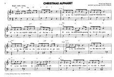 Christmas Alphabet >>> KLICK auf die Noten um Reinzuhören <<<