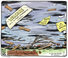 Blowing in the wind (Tom Toles, Wash Post)