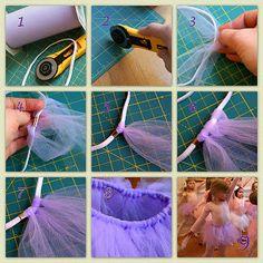 Como fazer uma saia Tutu