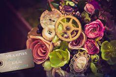 Steampunk Wedding Bouquet