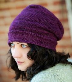 Zelda Slouchy Hat Pattern - PAID This is premium slouchy hat knitting pattern from ravelry, this will keep you warm and still looking good. #knitting #hat #pattern www.knitting-directory.com