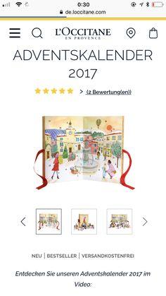 Occitane En Provence, Advent Calendar