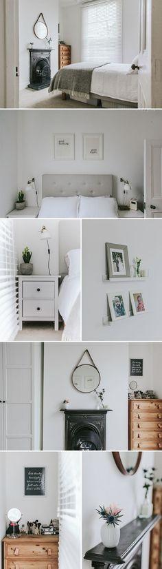 Scandi inspired master bedroom