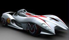 Racer X Mach 5 | ... mais style dos desenhos e que é pilotado pelo saudoso Speed Racer