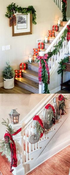 100 Favorite Christmas decorating ideas for every room! Lots of great tips to a. 100 Favorite Christmas decorating ideas for every room! Lots of great tips to apply to your own home easily with gorgeous DIY Christmas decorations! Noel Christmas, Outdoor Christmas, Rustic Christmas, Simple Christmas, Christmas Projects, Christmas Wreaths, Christmas Island, Christmas 2019, Christmas Vacation