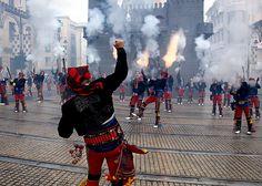 Moros y Cristianos, Alcoy, foto de Elías Seguí