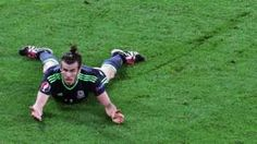 Gareth Bale of Wales reacts during the Uefa Euro 2016 semi final match between Portugal and Wales