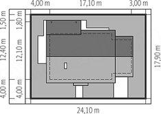 Rzut projektu Kornel VI (z wiatą) energo Bar Chart, Floor Plans, Case, Bar Graphs, Floor Plan Drawing, House Floor Plans