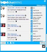 Try Chatwing and tell others to discover this free online widget, Chatwing is here to serve you 24/7