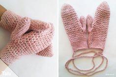 In dieser kostenlosen Anleitung für Anfänger zeigen wir Ihnen mit Bildern, wie Sie Handschuhe häkeln. Diese warmen Fäustlinge sind wirklich kinderleicht.