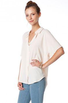 ivory liam blouse $35