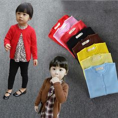 >> Click to Buy << Baby Sweater Jacket New Autumn/Winter Kids Girl Sweater Casual Style Boy Cotton Cardigan Long Sleeve  Knitted Children Sweaters #Affiliate