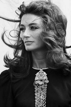 Ok, so no idea who this (Anouk Aimee) is but this picture is blowing my mind.
