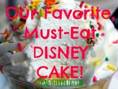 MUST EAT #Disney Cakes