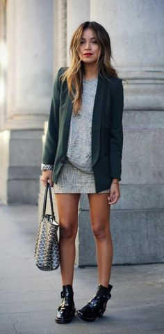 Fitness Exercises 70228075418433958 - Cool bottines cuir femme bottines marron femme tenue chic Source by luseyers Mode Outfits, Fall Outfits, Casual Outfits, Fashion Outfits, Fashion Clothes, Fresh Outfits, Fashion Mode, Look Fashion, Fashion Trends