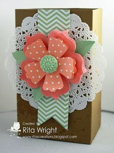 by Rita Wright, Rita's Creations: Stampin' Up! Gorgeous Grunge Gift | http://cutegreetingcards.blogspot.com