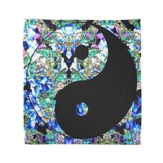Wild Yin Yang Bandana ($17) found on Polyvore featuring women's fashion and accessories