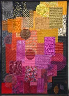Vuur - Fire   Ineke van Unen – art quilts – textile art
