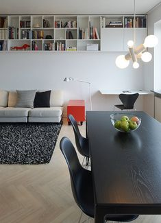 """Top Floor Studio by Rotstein Arkitekter"" -- Click through for slideshow, floorplan, and more photos."