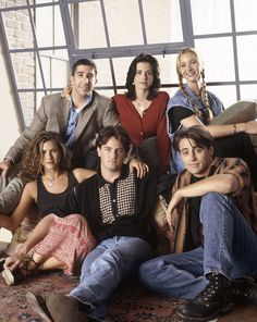 "One of the earliest cast photos ever taken of our favorite ""Friends"" which premiered twenty years ago this month."