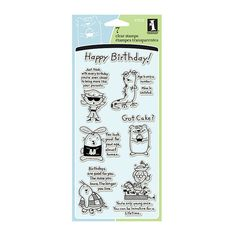 SALE  Inkadinkado Humorous Birthday Clear by SoulFILLedExpression, $3.99