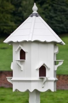 Bergholt Dovecote, Two Tiered Hexagonal Birdhouse and for more please, visit me at→ https://www.pinterest.com/imjollyollie/
