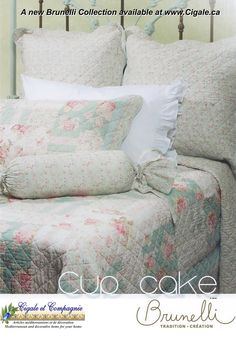 Cup Cake - a new bedding set arrival at www.cigale.ca