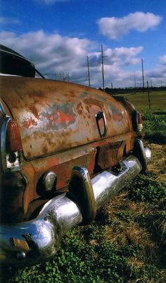 old rusty cars are the best!